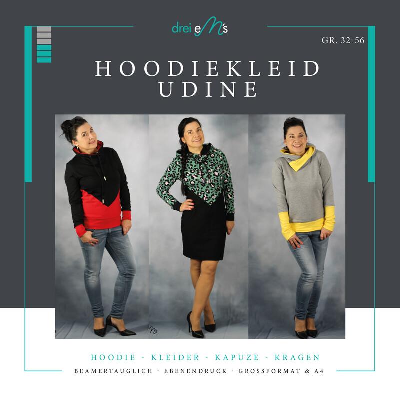 Ebook  Hoodiekleid UDINE Gr. 32-56