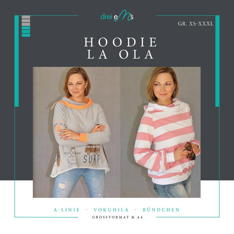 Ebook Hoodie LA OLA XS-XXXL