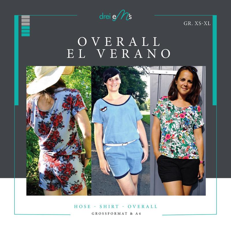 Ebook Overall EL VERANO 3 in 1  Gr. XS-XL