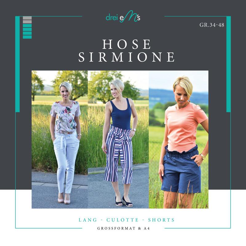 Ebook lange Hose, Culotte,Shorts SIRMIONE Gr. 34-48