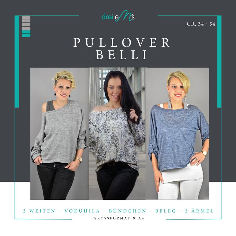 Ebook Pullover BELLI Gr. 34-54
