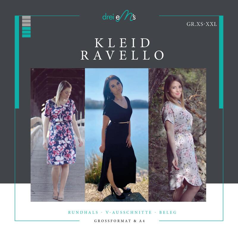 Ebook Kleid RAVELLO Gr. XS-XXL