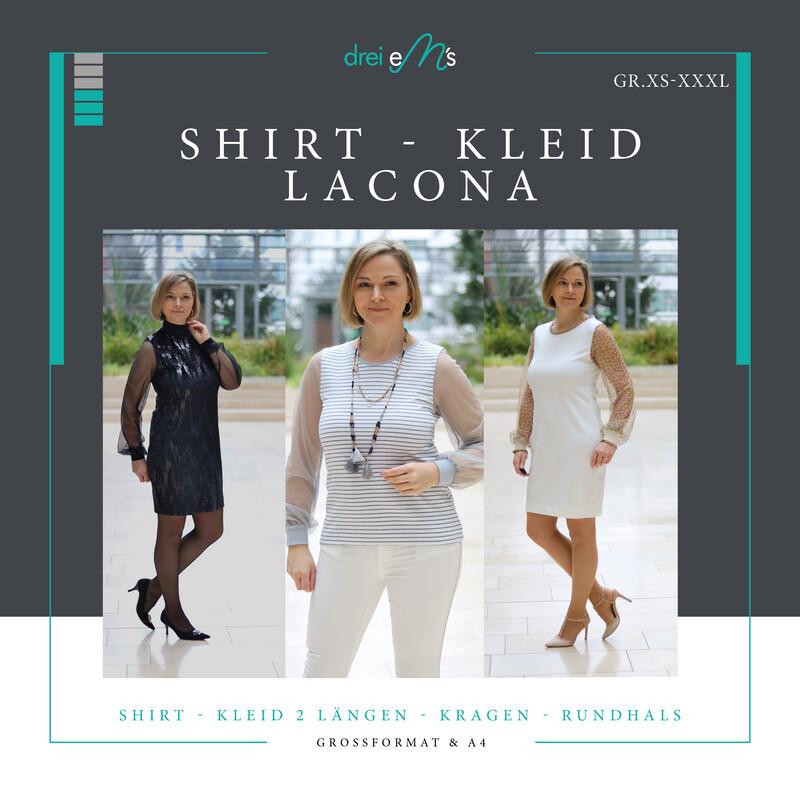 Ebook Shirt / Kleid LACONA Gr. XS-XXXL