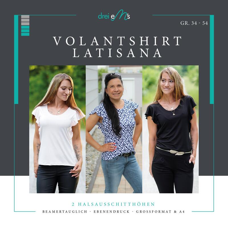 Ebook Volant-Shirt LATISANA Gr. 34-54