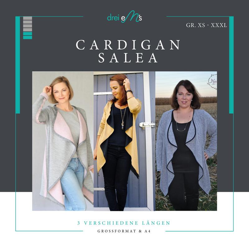 Ebook Cardigan SALEA  XS-XXXL