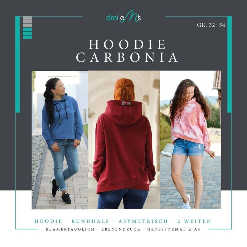 Ebook Hoodie CARBONIA Gr. 32-54