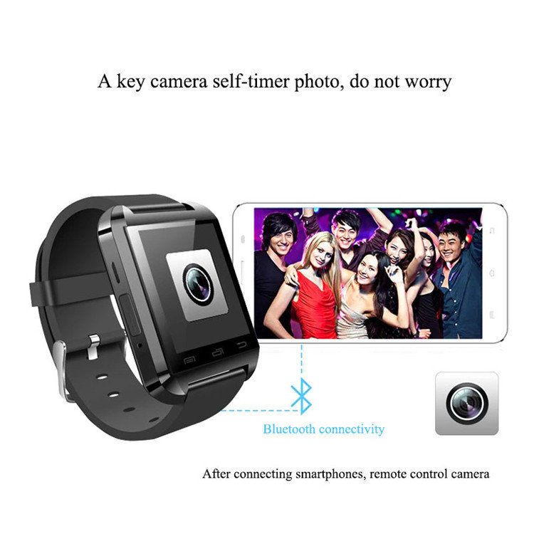 The Multifunctional Bluetooth Smart Watch For Iphone & Samsung Android . With built in Camera , discounted at only  $28.00  True-Portable Savings! {Remember your discount has been auto applied}