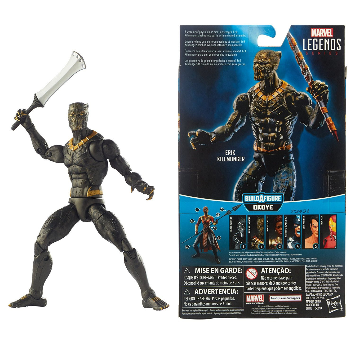 "The Choice for ""Marvel Legends Black Panther"""