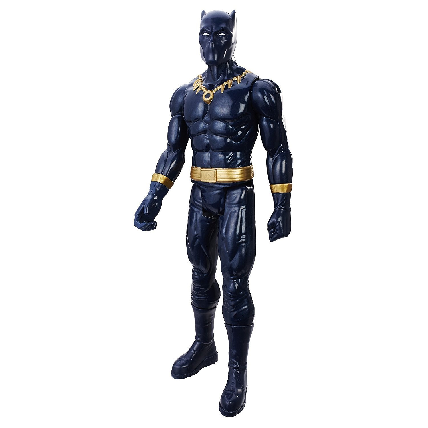 Were $33.50; price has been slashed/  Black Panther, 12-inch figures from the Marvel Titan Hero Series, Super Action Now at $28.50 $5 Discount Plus FREE Shipping