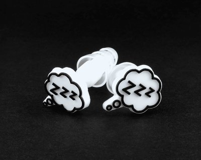 Earplugs with CLOUD logo