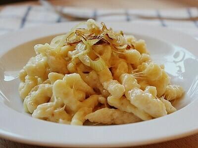 Erzhorn`s Käsespätzli klein und gross