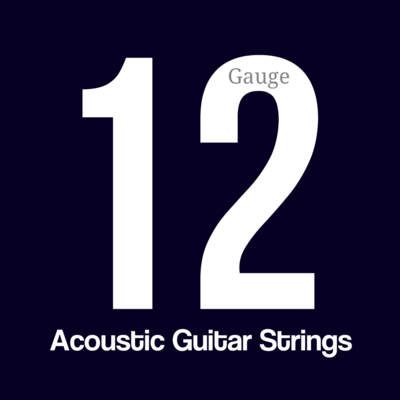 Acoustic Bronze Guitar Value Strings (Gauge .012 - .053)