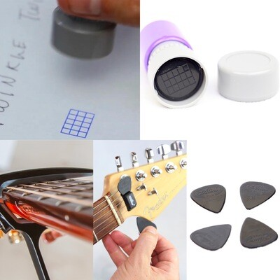 The Essential Guitar Chord Capo and Stamper Kit + Mini Guitar Video Course