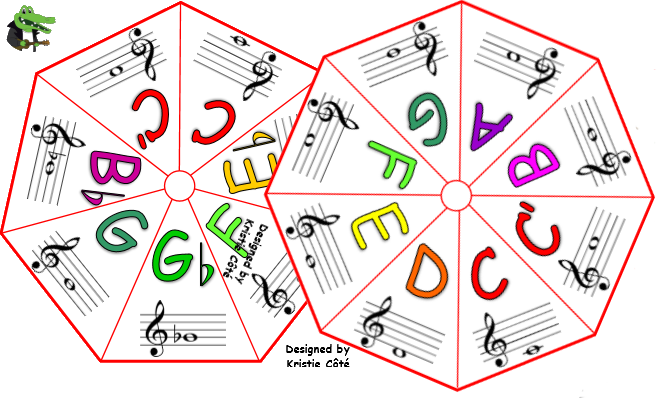 C Major and C Blues Scale Spinners