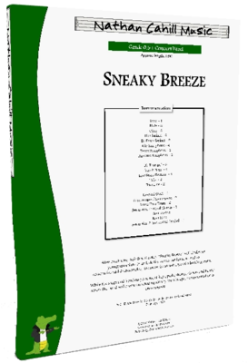 Sneaky Breeze - Level 0.5+ Concert Band