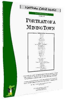 Portrait of a Mining Town - Level 2.5 Concert Band