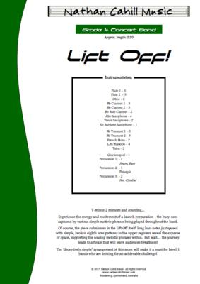 Lift Off! Level 1+ Concert Band