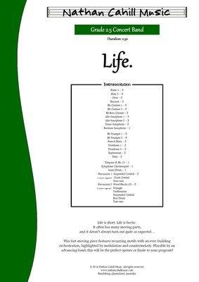 Life - Level 2.5 Concert Band