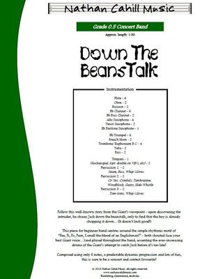 Down the Beanstalk! - Level 0.5 Concert Band