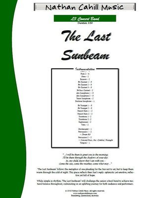 The Last Sunbeam - Level 3 Concert Band