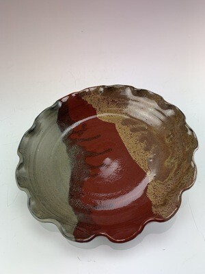 Pie Dish Small/Lava