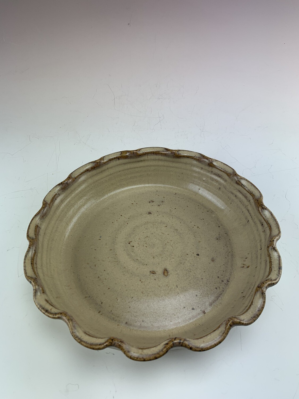 Pie Dish Large/Sand