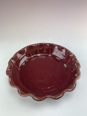 Pie Dish Large/Candy Apple