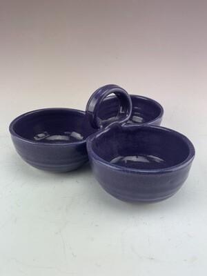 Condiment 3 Bowl/Melanie