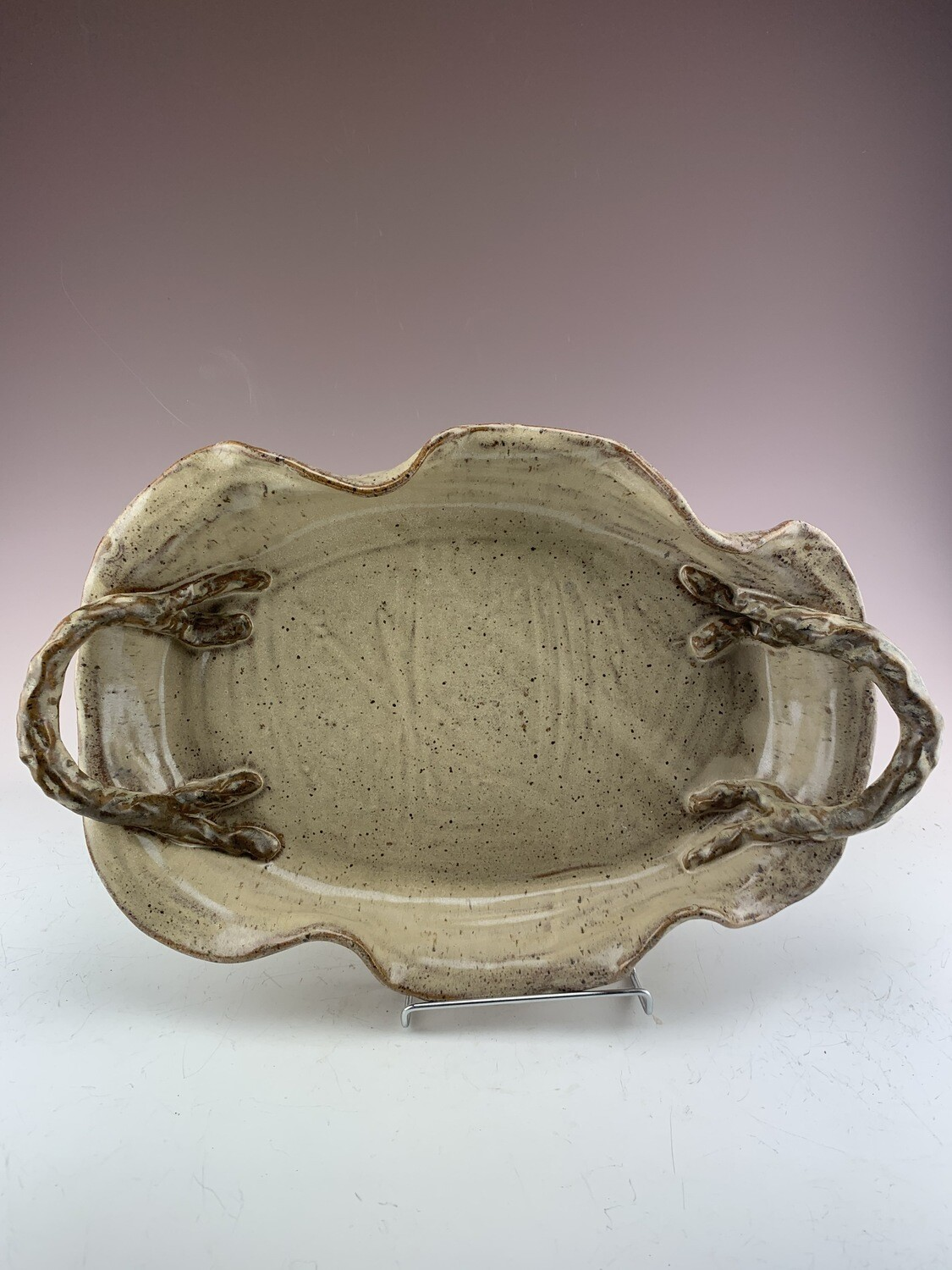 Serving Tray Lg/Sand