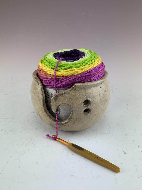 Yarn Bowl/Sand