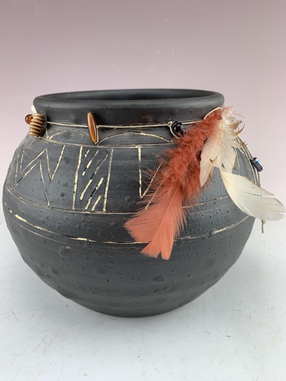 Cherokee Fire Pot/N Store