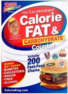 Calorie, Fat, & Carbohydrate Counter