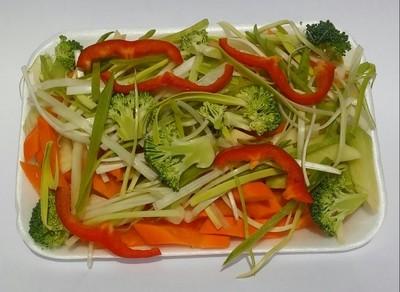 Verduras para chao mein