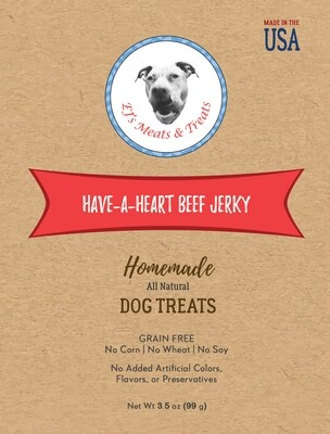 Have-A-Heart Beef Jerky