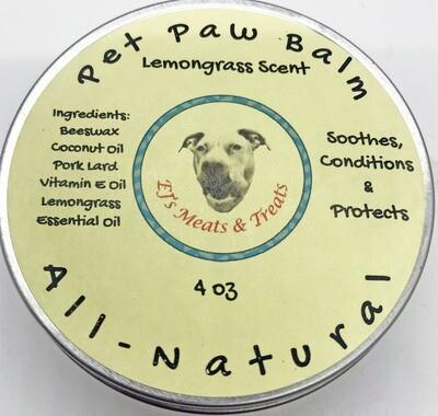 Lemongrass Paw Balm