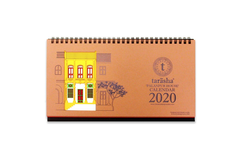 'Palanpur House' Calendar 2020