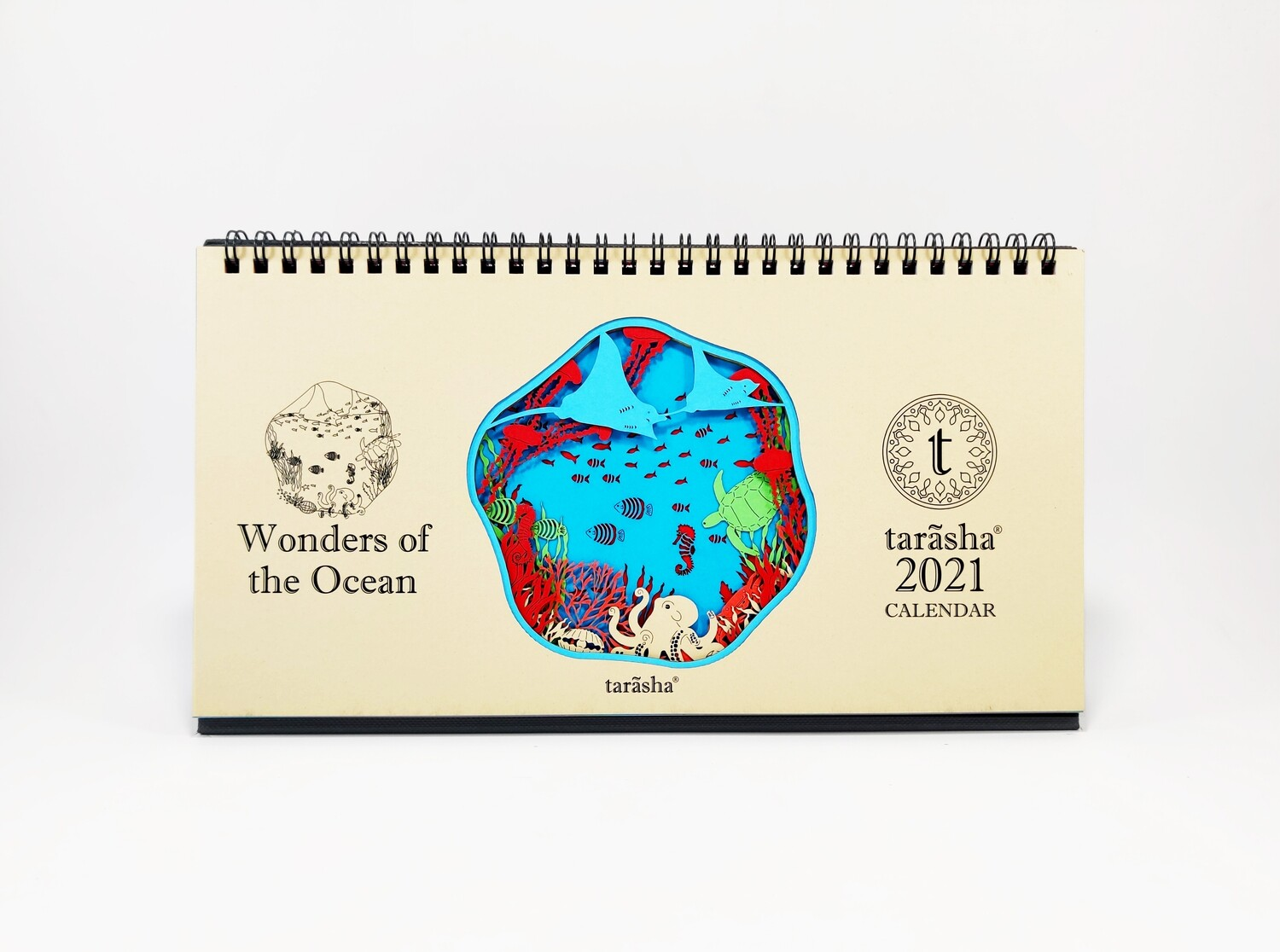 'Wonders of the Ocean' Calendar 2021