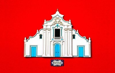 Chapel in Old Goa_Red