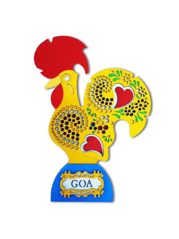 Galo de Goa Rooster_Yellow