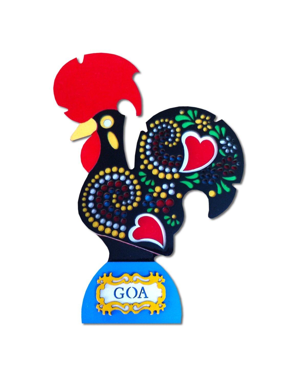 Galo de Goa Rooster_Black
