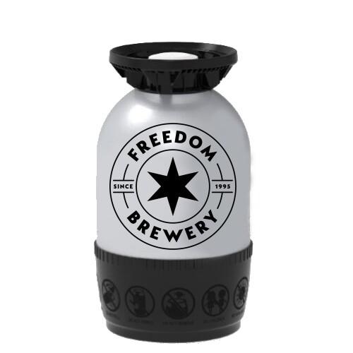 Freedom Brewery - Freedom Lager - 12 Litre Polykeg (Sankey)