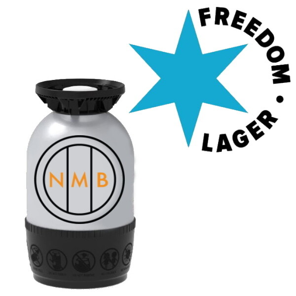 Freedom Brewery - Freedom Lager - 12 Litre Polykeg (Sankey)