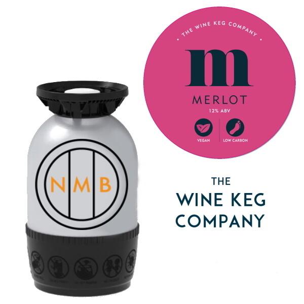 Merlot (Red wine) | The Wine Keg Co - 20 Litre - Polykeg (Sankey)