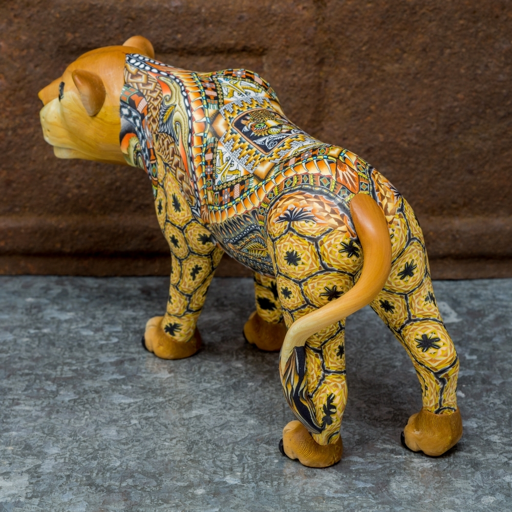 FimoCreations - Lioness - Back View