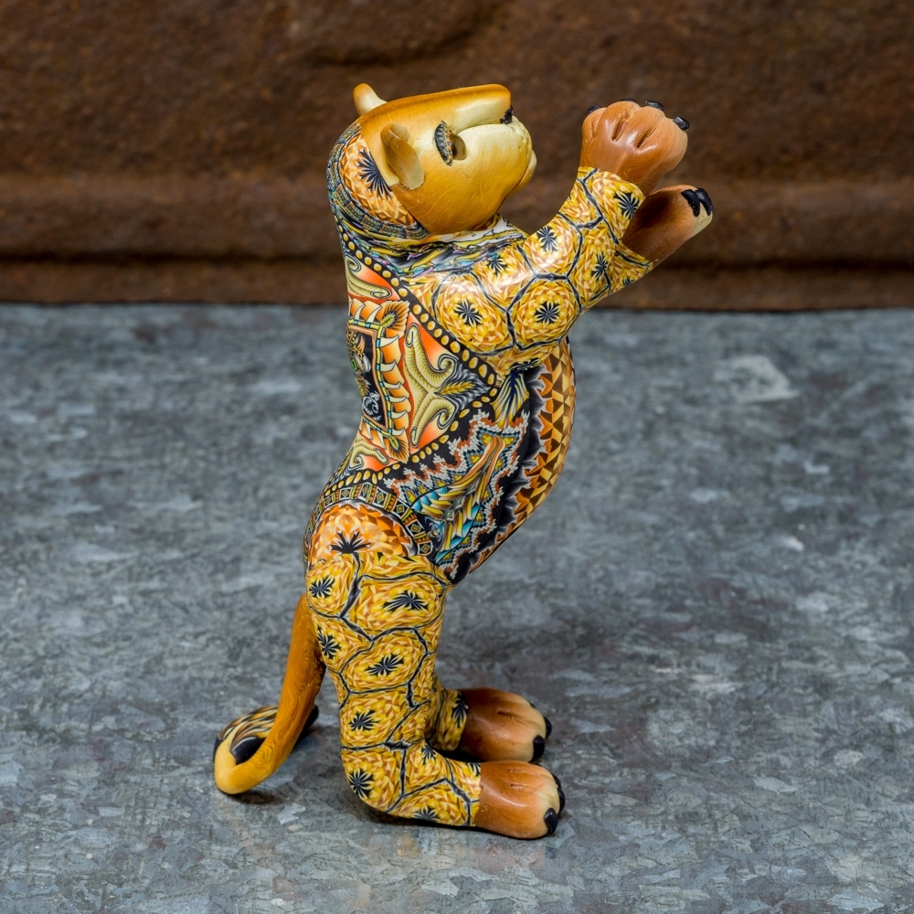 FimoCreations - Lion Cub - Side View
