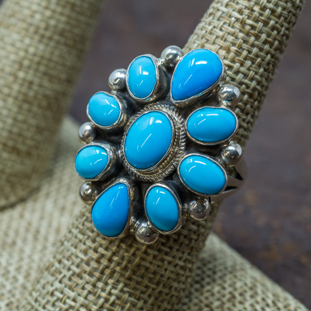 Sleeping Beauty Turquoise Ring SB190016