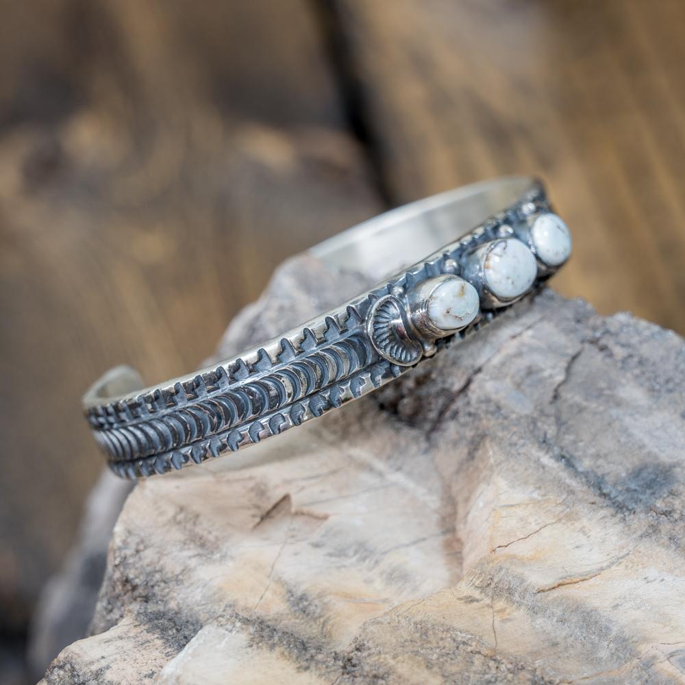 Dry Creek Turquoise Bracelet by June Defauito