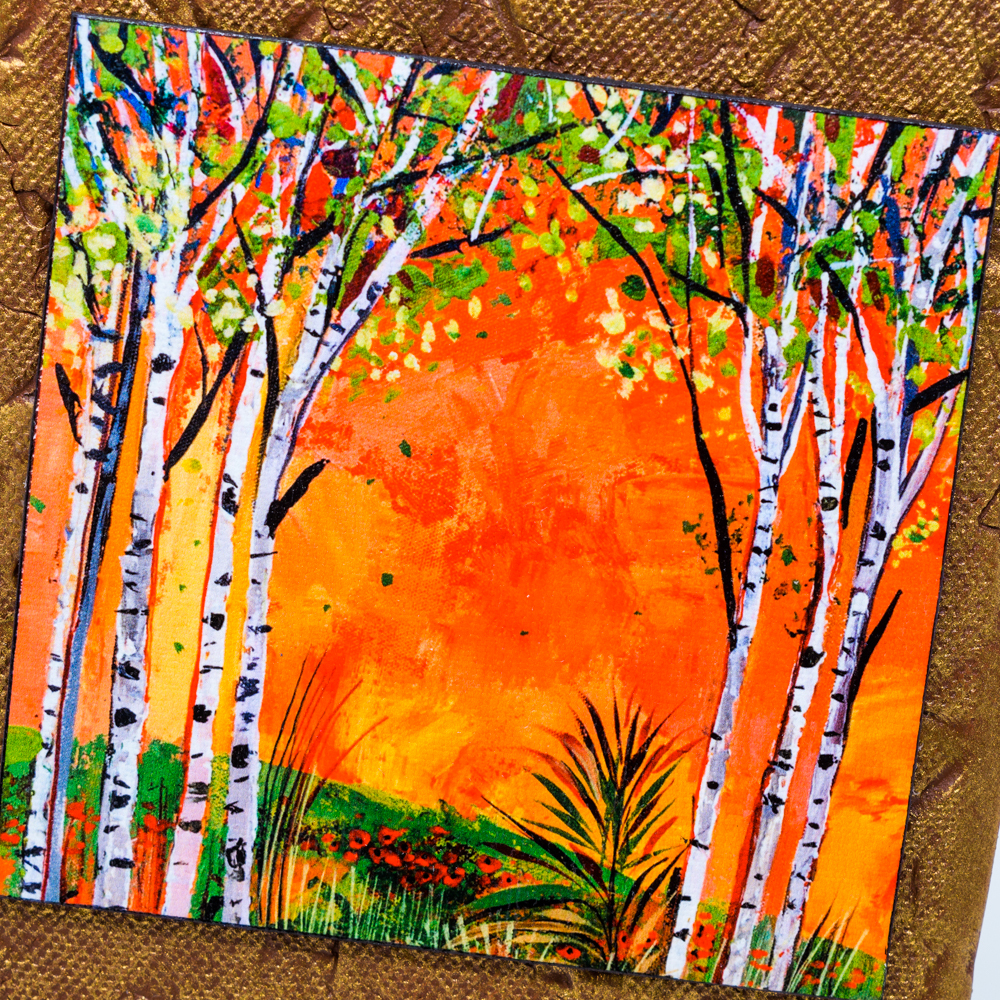 Miro Kenorov Clay Wall Art with Painted Canvas Print