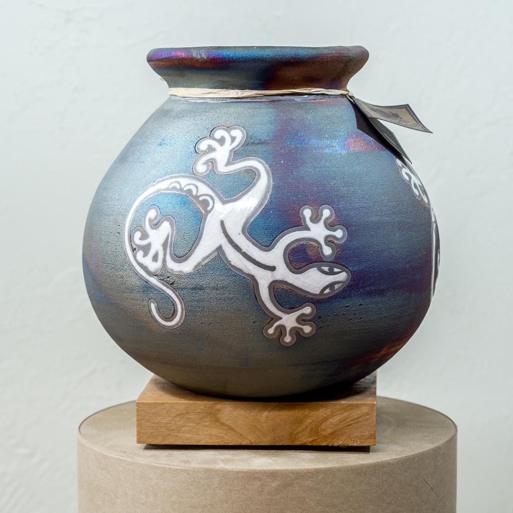 Raku Pottery SG200049
