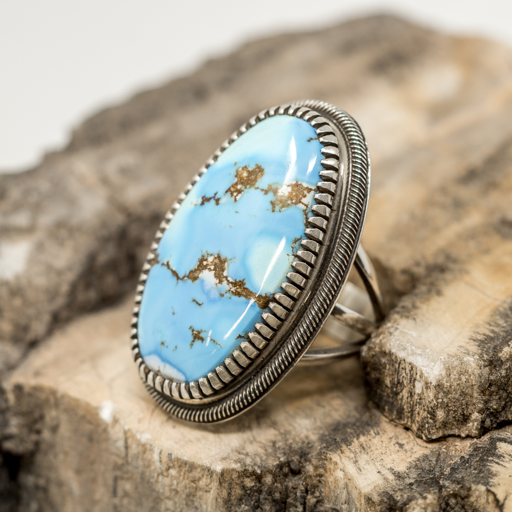 Golden Hills Turquoise Ring JE200038